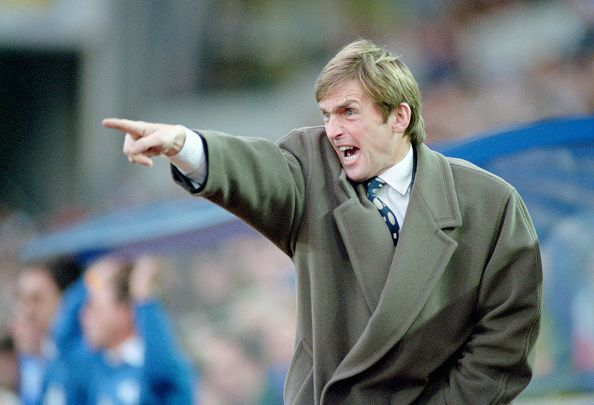Blackburn Rovers Manager Kenny Dalglish 1994