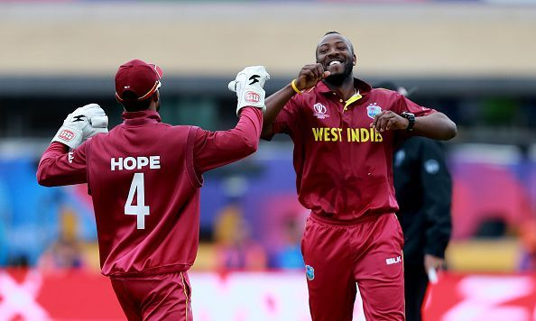 Shai Hope and Andre Russell