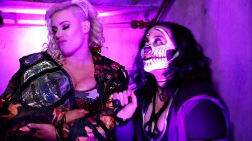 Rosemary and Taya Valkyrie had an interesting confrontation this week