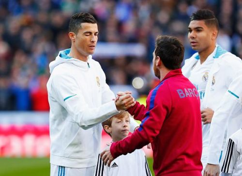Messi and Ronaldo are considered by many the best two players in the world