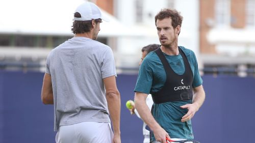 Feliciano Lopez and Andy Murray