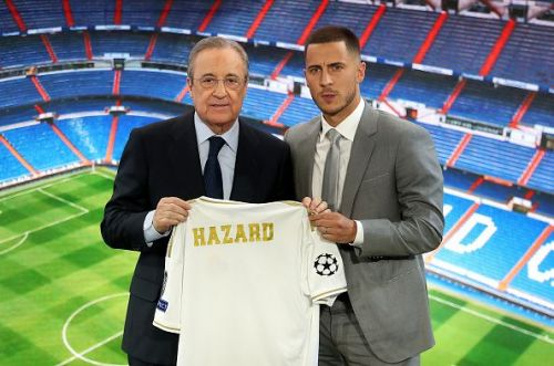 The club signed Eden Hazard from Chelsea for almost €105mn.