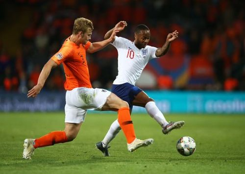 Despite being at fault for England's solitary goal, de Ligt equalised and recovered from a sluggish start
