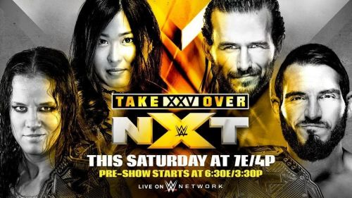 Image result for nxt takeover xxv poster