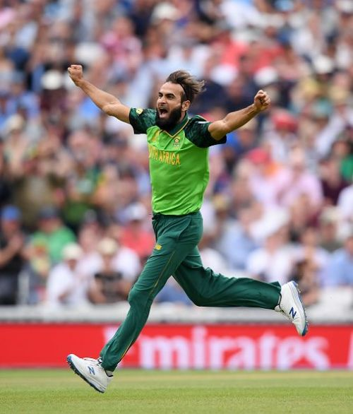 Imran Tahir's age might be 40 but he seems to be 20 considering his youthful exuberance