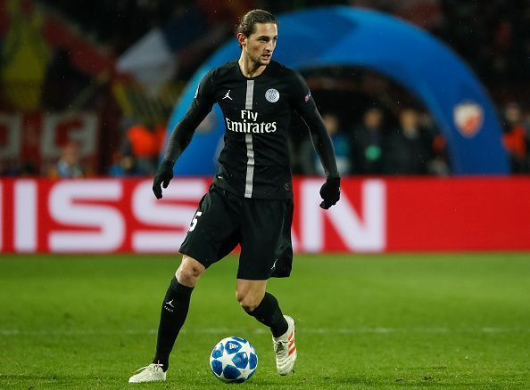 Adrien Rabiot is set to be a free agent this summer
