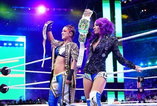 Banks hasn't been seen on WWE TV since losing the Women's Tag titles at WrestleMania 35.