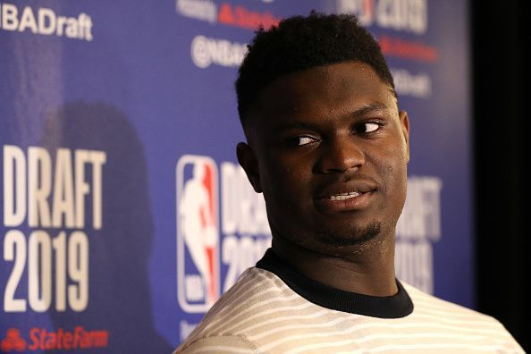 Zion Williamson is expected to be the No. 1 overall pick in the 2019 NBA Draft