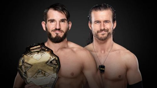 Johnny Gargano vs Adam Cole for the NXT Championship