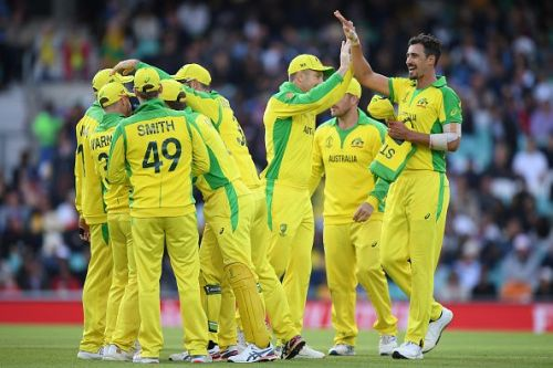 Australia would start as firm favorites to win today's game
