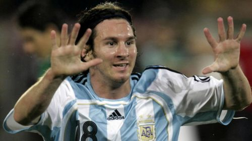Messi scored in the semi-final against Mexico as Argentina reached 2007 Copa America final