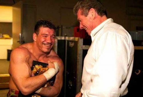 Vince with Eddie