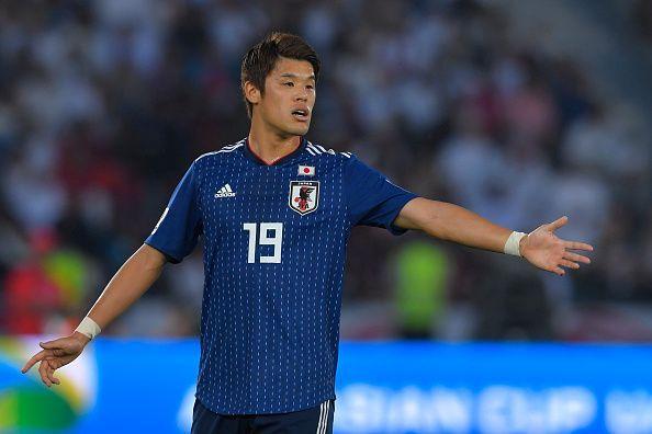Hiroki Sakai in action for Japan recently