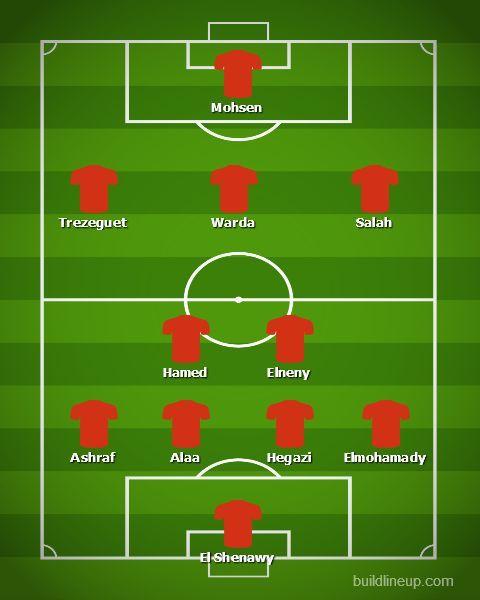 AFCON 2019 Match 1 - Egypt v Zimbabwe: Egypt