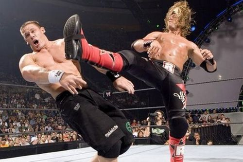 Cena and Edge would battle for years over the WWE and World Heavyweight Championships.