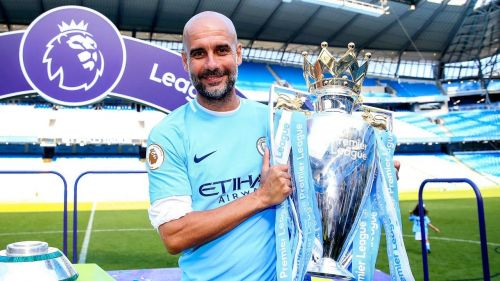 Pep has now won two Premier League titles on the trot