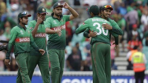 Bangladesh have been decent so far.
