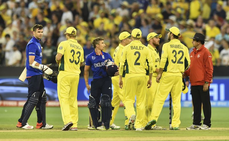 Australia crushed England in their previous ICC World Cup match