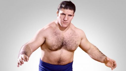 Bruno Sammartino in the 1960s. Sammartino is a WWE Hall of Fame member.