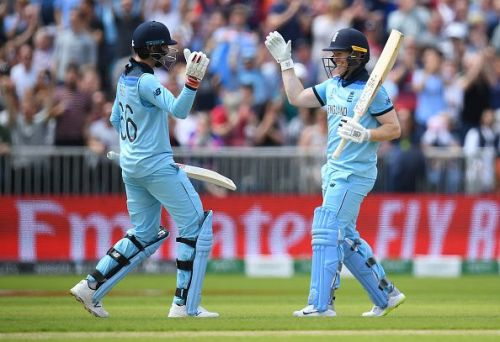England crushed Afghanistan in their previous match