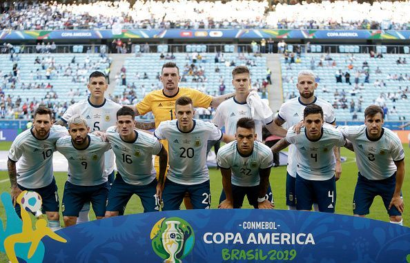 The Argentine squad is lacking in quality