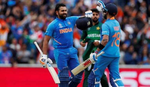 Rohit scored a scintillating hundred against Pakistan.