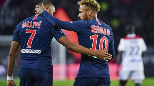 Mbappe has stood by Neymar during his injury