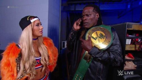 It wasn't a good night for R-Truth, who found out seconds before his match that he was defending his title tonight
