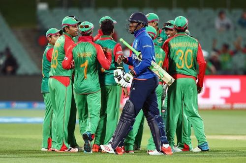 Bangladesh had knocked England out of the 2015 ICC Cricket World Cup