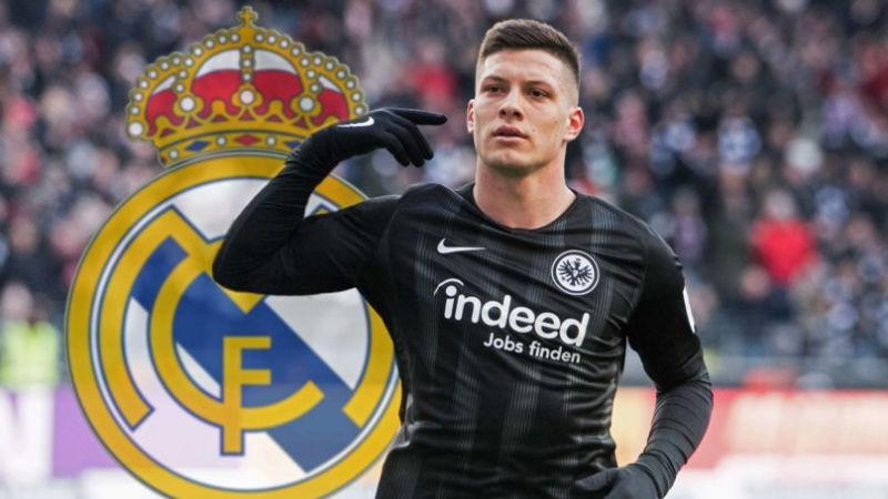 Luka Jovic has joined Real Madrid on a six-year-long deal.