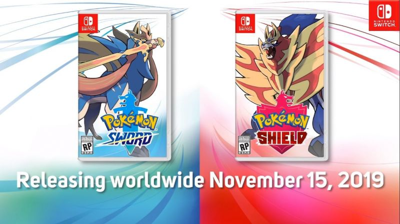 Pokemon Sword And Shield Nintendo Reveals Release Date New