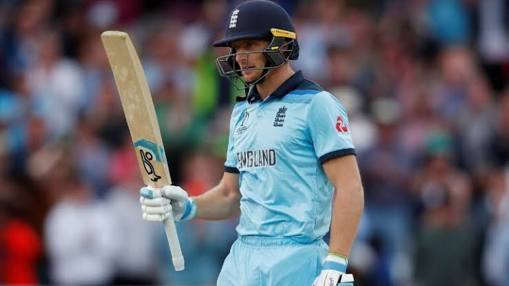 Jos Buttler suffered a hip injury in the first innings of England