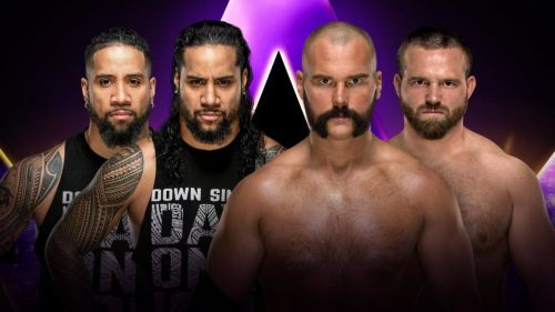 The Top Guys aim to break out of the Uso Penitentiary at Super Showdown