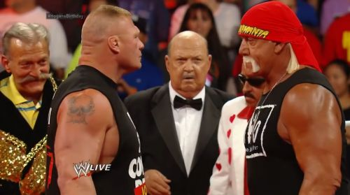 Lesnar and Hogan