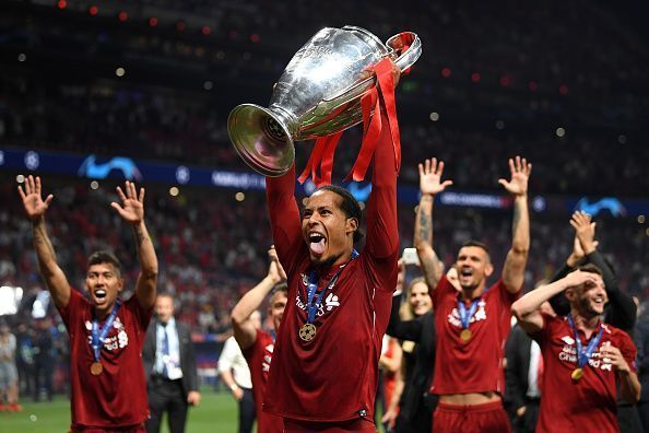 Virgil van Dijk played a vital role in Liverpool