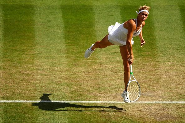 Camila Giorgi has the game to upstage higher ranked opponents on her day.