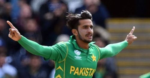 Hasan Ali was impressive with the ball against England