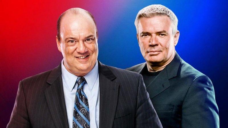 पॉल हेमन को रॉ और एरिक बिशफ को स्मैकडाउन का एग्जीक्यूटिव डायरेक्टर बनाया गया है