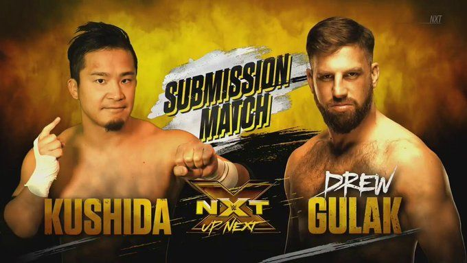 Kushida and Drew Gulak continue their war to prove who is the real Submission Specialist