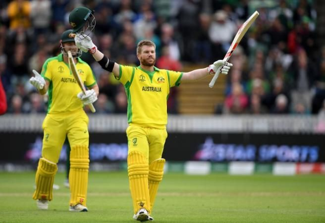 David Warner was the star of the day as he scored 166 off 147 balls to put his team in a great position.