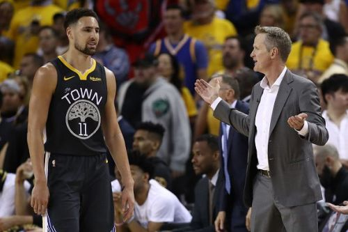 Klay Thompson will play as the Warriors look to overturn a 3-1 series deficit