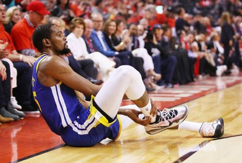 Kevin Durant's season reached a premature end in Game 5 of the NBA Finals