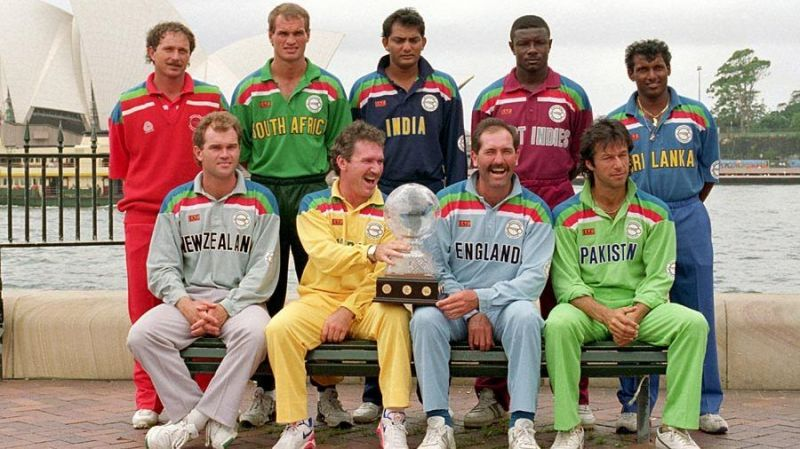 1992 WC had nine teams competing in a round-robin format