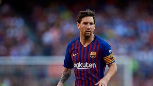 Messi has captained Barcelona since last year