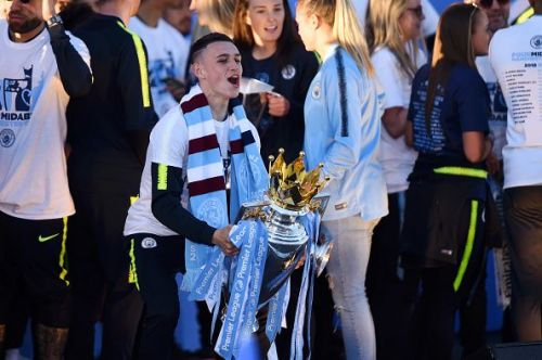 Despite City retaining their title, Foden only played 327 PL minutes this term - an average of eight per game