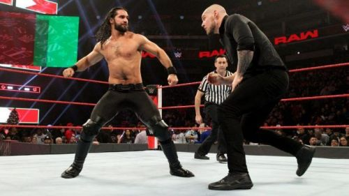 Seth Rollins will defend his Universal title against Baron Corbin at Super ShowDown