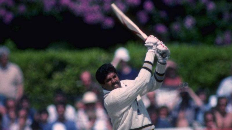 कपिल देव ने ज़िम्बाब्वे के खिलाफ 175 रनों की शानदार पारी खेली थी