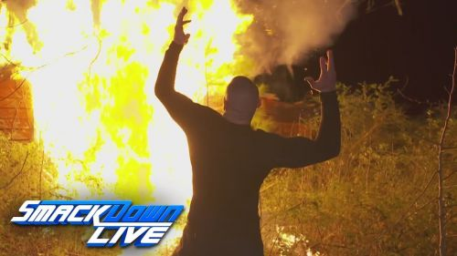 Orton destroys Wyatt's home
