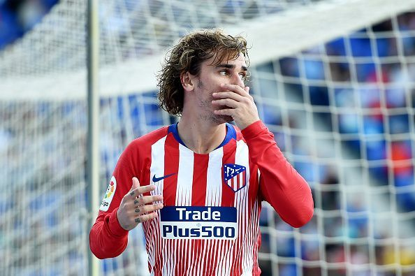 Griezmann continues to make the headlines