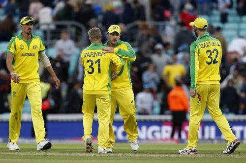 ऑस्ट्रेलिया की टीम मैच जीतने के बाद